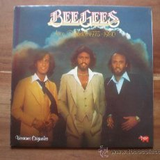 Discos de vinilo: BEE GEES - AÑOS DORADOS 1975-1980 - (ESPAÑA-RSO-1980) EDICIÓN CAIXA DE BARCELONA - POP LP. Lote 20232925