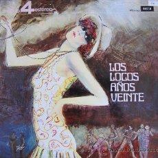 Discos de vinilo - lp - eric rogers y su orquesta - los locos años 20 - edicion española, decca 1963 - 21505978