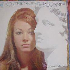 Disques de vinyle: LP - RAY CONNIFF SU ORQUESTA Y COROS - CONCIERTO EN RITMO - ORIGINAL ESPAÑOL, CBS 1970. Lote 20248694