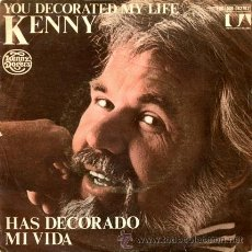 Discos de vinilo: KENNY ROGERS ··· YOU DECORATED MY LIFE / ONE MAN'S WOMAN - (SINGLE 45 RPM). Lote 20261397