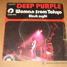 Discos de vinilo: WOMAN FROM TOKYO - DEEP PURPLE. Lote 20273348