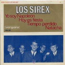 Discos de vinilo: LOS SIREX - YO SOY NAPOLEÓN - 1966. Lote 26538272