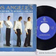 Disques de vinyle: LOS ANGELES. 45 RPM. LO MUCHO QUE TE QUIERO+CADA DIA. HISPAVOX 1969. Lote 20285507