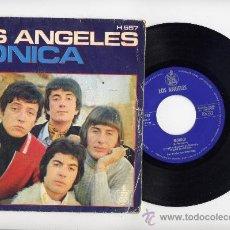 Disques de vinyle: LOS ANGELES. 45 RPM. MONICA+TE PRESENTI. HISPAVOX. Lote 20285514