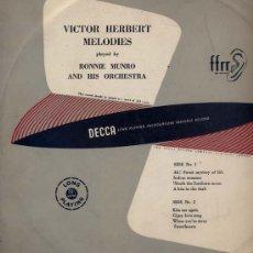 Discos de vinilo: 10 PULGADAS - RONNIE MUNRO AND HIS ORCHESTRA (DECCA LF 1003). Lote 20287094