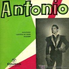 Discos de vinilo: ANTONIO (EL BAILARÍN) - ZAPATEADO - (ANTONIO MAIRENA AL CANTE). Lote 26538275