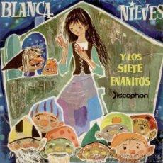 Discos de vinilo: BLANCANIEVES Y LOS SIETE ENANITOS - 1960 - VINILO ROJO. Lote 26873141