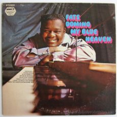 Discos de vinilo: FATS DOMINO – MY BLUE HEAVEN – LP USA 1971 – PICKWICK SPC-3295. Lote 20322690