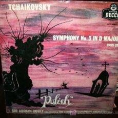 Discos de vinilo: LP - TCHAIKOWSKY - POLACA. Lote 26672514