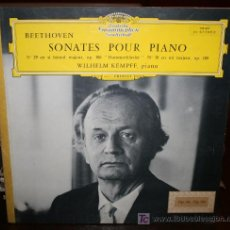 Discos de vinilo: LP - BEETHOVEN - SONATES POUR PIANO. Lote 20440188