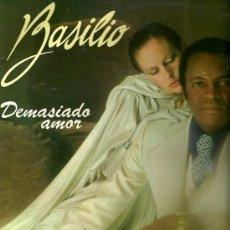 Discos de vinilo: BASILIO LP PORTADA DOBLE SELLO NOVOLA AÑO 1977 CISNE CUELLO NEGRO.... Lote 20327753