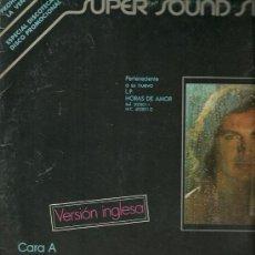 Discos de vinilo: CAMILO SESTO CANTA EN INGLES MAXI-SINGLE SELLO ARIOLA AÑO 1979.. Lote 20328107