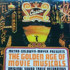 Discos de vinilo: THE GOLDEN AGE OF MOVIE MUSICALS,VARIOS EDICION USA DOBLE LP. Lote 20333324