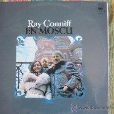Disques de vinyle: LP - RAY CONNIFF - EN MOSCU - ORIGINAL ESPAÑOL, CBS 1975. Lote 20340343