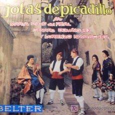 Discos de vinilo: JOTAS DE PICADILLO 45 RPM ESPAÑA ( EP8). Lote 20356941