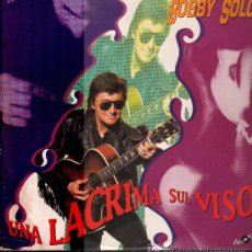 Discos de vinilo: BOBBY SOLO - UNA LACRIMA SUL VISO / IN LOVE WITH ME - MAXISINGLE 1990. Lote 23278697