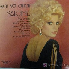 Discos de vinilo: LP-SALOME-SE'N VA ANAR-TEMES EN CATALÀ-RARISIMO. Lote 26972591