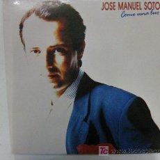 Discos de vinilo: LP-COMO UNA LUZ-JOSE MANUEL SOTO-NUEVO MUY RARO Y EN . Lote 27506626