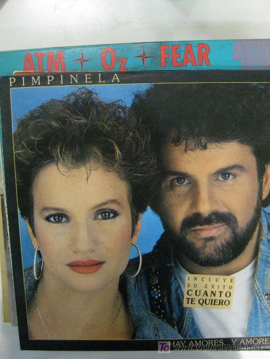 LP-PIMPINELA-HAY AMORES Y AMORES...-NUEVO, MUY RARO EN (Música - Discos - LP Vinilo - Grupos Españoles de los 90 a la actualidad)