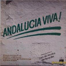 Discos de vinilo: ANDALUCIA VIVA. Lote 26705488