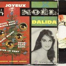 Discos de vinilo: EP 45 RPM / DALIDA / NOEL BLANC /// EDITADO POR BARCLAY. Lote 20366620