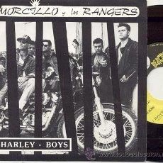 Discos de vinilo: SINGLE 45 RPM / MORCILLO Y LOS RANGERS / HARLEY BOYS /// EDITADO POR MEDICINALES. Lote 20367002
