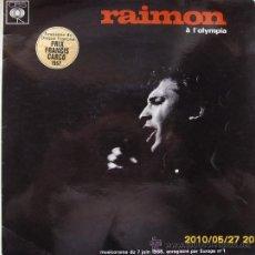 Discos de vinilo: RAIMON Á L´OLYMPIA 1966. Lote 26685318