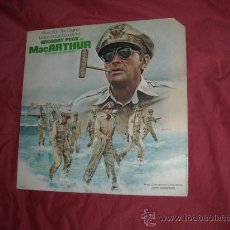 Discos de vinilo: MACARTUR LP BANDA SONORA ORIGINAL MUSICA JERRY GOLDSMITH LP USA MCA 1977. Lote 156746470