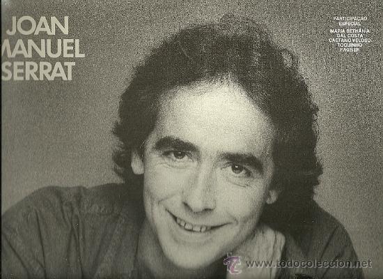 JOAN MANUEL SERRAT LP SELLO ARIOLA EDITADO EN ESPAÑA AÑO 1986 (Música - Discos - LP Vinilo - Solistas Españoles de los 50 y 60)