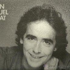 Discos de vinilo: JOAN MANUEL SERRAT LP SELLO ARIOLA EDITADO EN ESPAÑA AÑO 1986. Lote 20382974