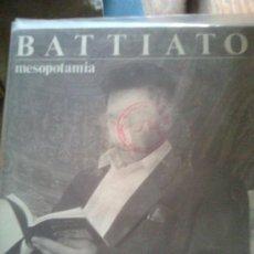 Discos de vinilo: FRANCO BATTIATO - MESOPOTAMIA (EMI, 1988) - SINGLE PROMOCIONAL- MUY RARO. Lote 20390199