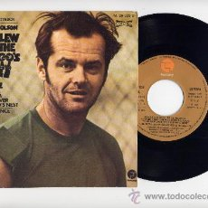 Discos de vinilo: ONE FLEW OVER THE CUCKCOO´S NEST. PROMO 45 RPM. BANDA SONORA PELICULA.FANTASY AÑO 1976. Lote 20391161