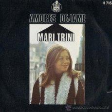 Discos de vinilo: MARI TRINI - AMORES / DÉJAME - 1971. Lote 20392658