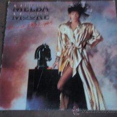 Discos de vinilo: MELBA MOORE ( READ MY LIPS ) 1985-GERMANY LP33 CAPITOL RECORDS. Lote 20409926