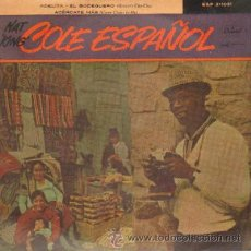 Discos de vinilo: NAT KING COLE ESPAÑOL ARRIVEDERCI ROMA / ADELITA / EL BODEGUERO / ACERCATE MAS. Lote 20424581