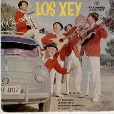 Discos de vinilo: LOS XEY // AY ROSALUNA + 3 // EP 1959. Lote 26897516