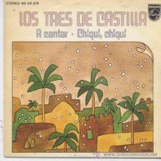 Dischi in vinile: LOS TRES(3) DE CASTILLA,A CANTAR DEL 73. Lote 188775125