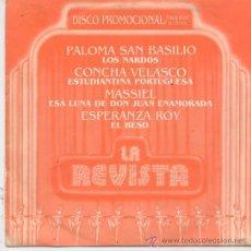 Discos de vinilo: LA REVISTA(PALOMA SAN BASILIO Y OTRAS) DEL 85 PROMO. Lote 20446997