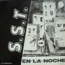 Discos de vinilo: S.S.T. – EN LA NOCHE - MAXI YAS FLI. RECORDS – YF-003 - ESPAÑA 1988 - NUEVO!!! - L13-*2. Lote 100124270