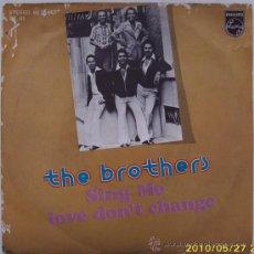 Discos de vinilo: THE BROTHERS. Lote 25250305