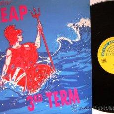 Discos de vinilo: T.V. SMITH'S CHEAP - MAXI SINGLE 3RD TERM - DELTIC RECORDS UK 1990. Lote 27233537