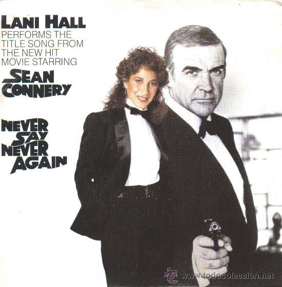 BSO NEVER SAY NEVER AGAIN (LANI HALL) SINGLE 1983 PROMOCIONAL SPAIN (Música - Discos - Singles Vinilo - Bandas Sonoras y Actores)