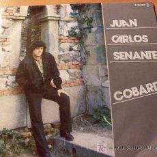 Discos de vinilo: JUAN CARLOS SENANTE ( COBARDE) 45 RPM ( EPX6). Lote 20489632