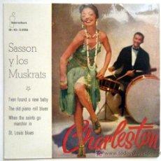 Discos de vinilo: SASSON Y LOS MUSKRATS.. Lote 26903181
