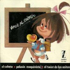 Discos de vinilo: LOS CHAVALITOS T.V. EP SELLO ZAFIRO AÑO 1965. Lote 20503354