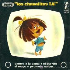 Discos de vinilo: LOS CHAVALITOS T.V. EP SELLO ZAFIRO AÑO 1964. Lote 20503379