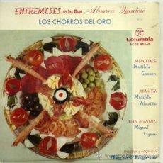 Discos de vinilo: MATILDE CONESA / MATILDE VILARIÑO / MIGUEL LIGERO EP SELLO COLUMBIA AÑO 1959 . Lote 20503428