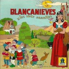 Discos de vinilo: BLANCANIEVES Y LOS 7 ENANITOS (CUENTO) EP SELLO ODEON AÑO 1958. Lote 20505839