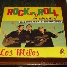 Discos de vinilo: MILOS LP HISTORIA DEL POP Nº2 GRUPO PIONERO DEL ROCK AND ROLL EN ESPAÑA. Lote 26614104
