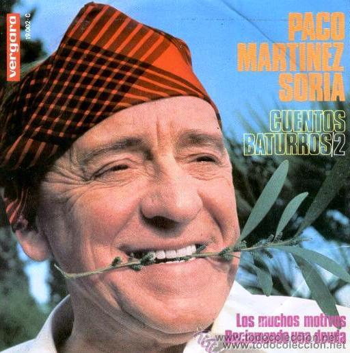 PACO MARTÍNEZ SORIA - CUENTOS BATURROS - EP, 1967 (Música - Discos de Vinilo - EPs - Bandas Sonoras y Actores)
